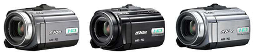 JVC's Everio GZ-HD5 / GZ-HD6 HD camcorders do 1080i with ease