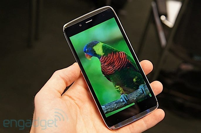 Alcatel OneTouch Idol Alpha hands-on