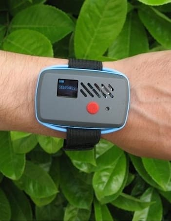 Sensaris wearable sensor promises to track noise and air quality