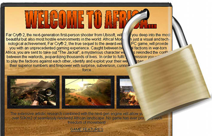 Far Cry 2 bundled with Spore DRM