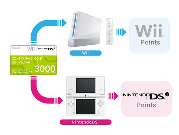 Nintendo Points won't make the leap between Wii and DSi