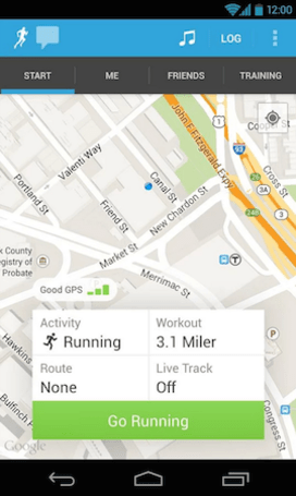 RunKeeper adds training plan feature to its Android app