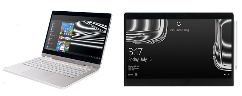 Porsche Design reveals a Windows 2-in-1 convertible