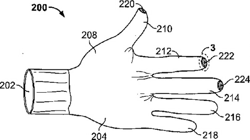 Apple patent reveals 'iPhone gloves' for warmer hands-on experience