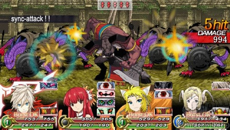 Unchained Blades going to 3DS and PSP as a digital release