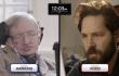 Super Kurzfilm: Stephen Hawking spielt Supernerd-Schach gegen Paul Rudd