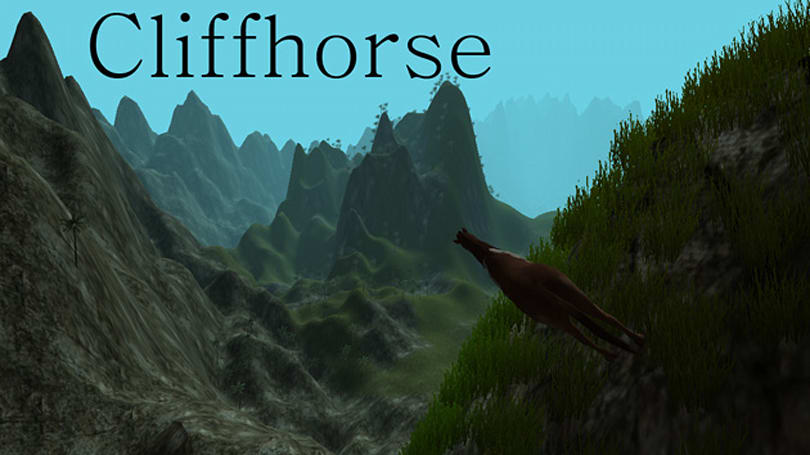 Minecraft maker's newest game blends cliffs, horses and Dogecoin