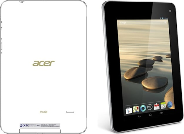 Acer Iconia B1-710 tablet swings by the FCC (updated)