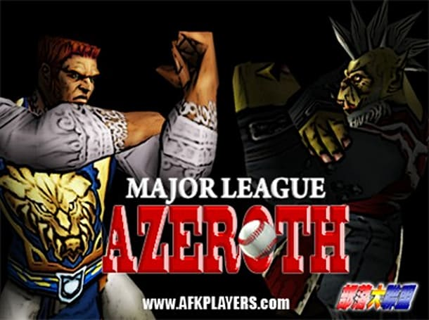 WoW Moviewatch: Major League Azeroth