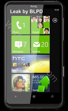 HTC HD7 pictured and specced by rumormongers trying to outdo one another (update: even more pics!)