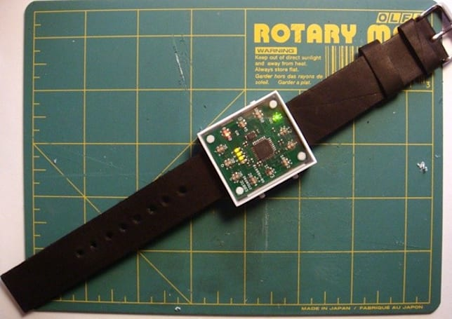 A DIY Arduino watch that's actually wearable, still won't win you points with the ladies