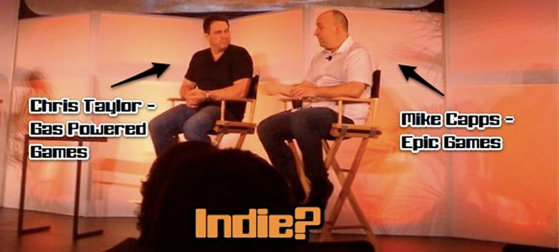 Overheard@DICE: How do you define indie?