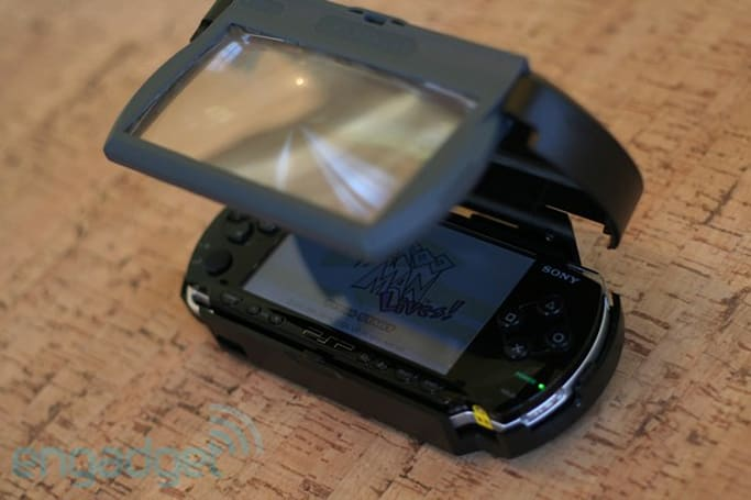 RealView's V-Screen for PSP review
