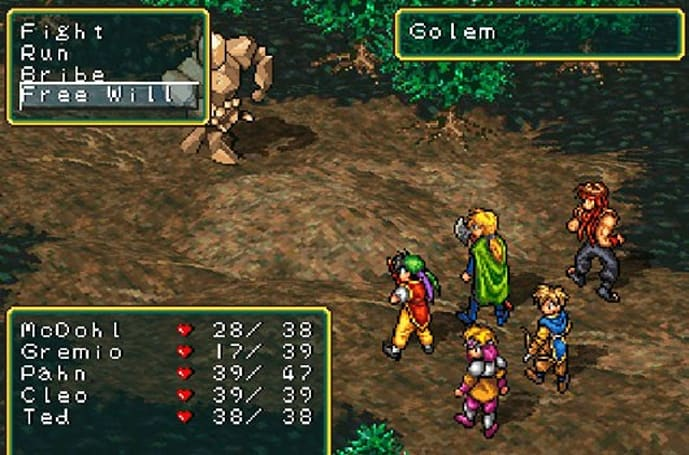 The delightful smoothness of classic Japanese role-playing games