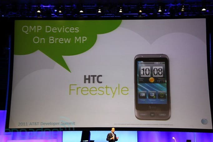 HTC Freestyle carries the Brew MP dumbphone torch for AT&T