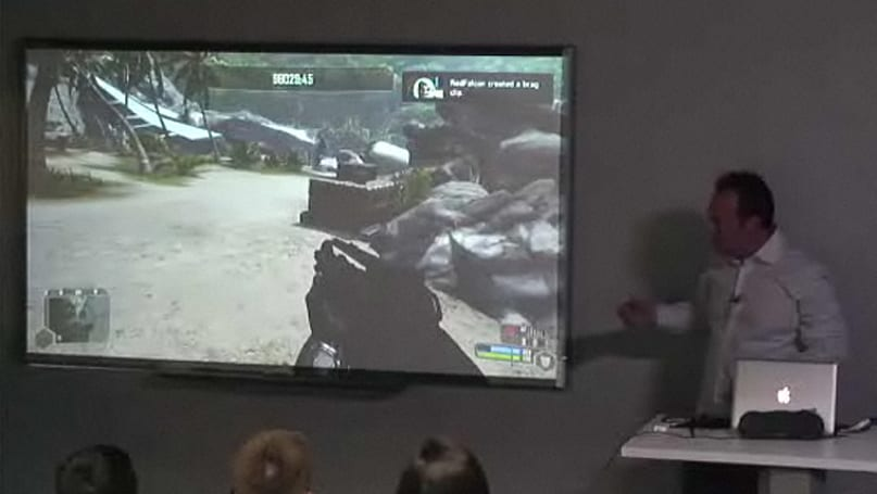 OnLive technology demonstrated at Columbia University