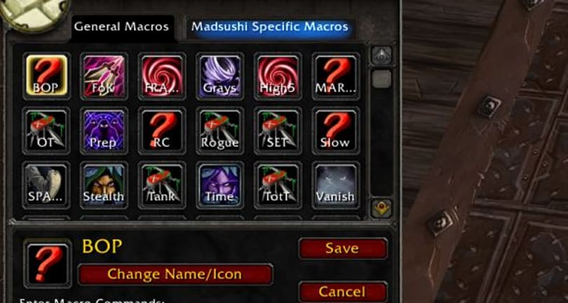 Encrypted Text: Five macros every rogue should know