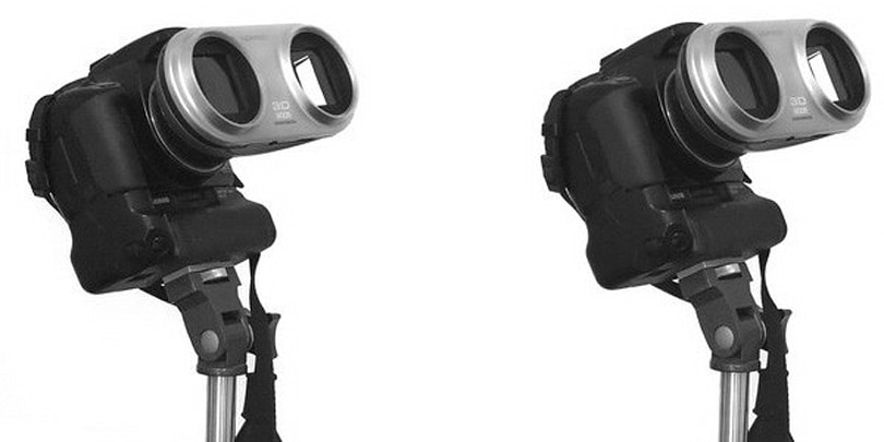 Loreo 3D Lens-In-A-Cap turns your SLR into a bug-eyed stereoscopy machine