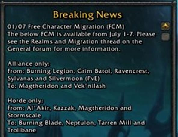 European free character migration now open
