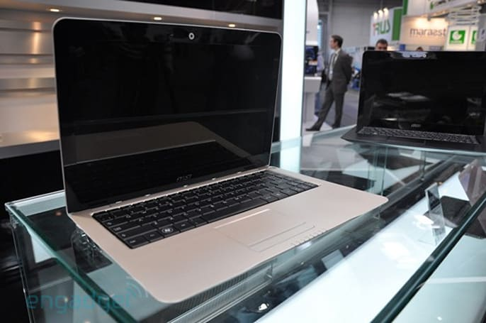 MSI X-Slim X320, X340 and GT725 hands-on