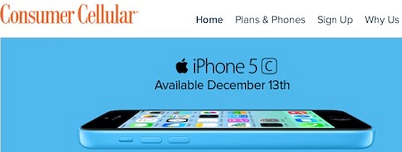 Consumer Cellular to offer iPhone to seniors on December 13