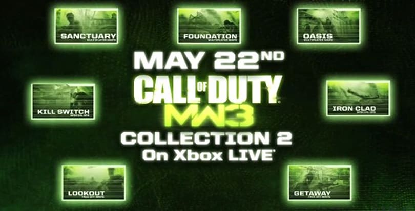 Modern Warfare 3's 'Content Collection 2' now on Xbox Live