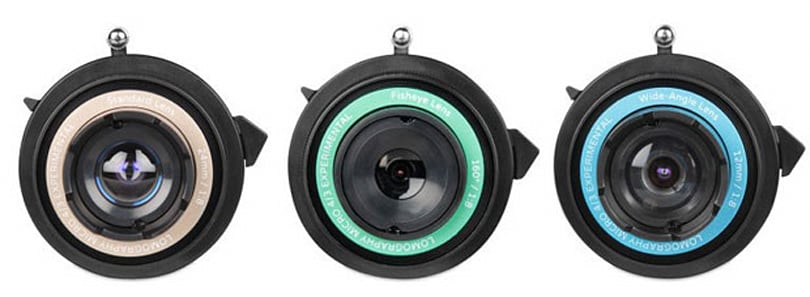 Lomography's Experimental Lens Kit spices up snapshots with your current Micro Four Thirds camera (video)