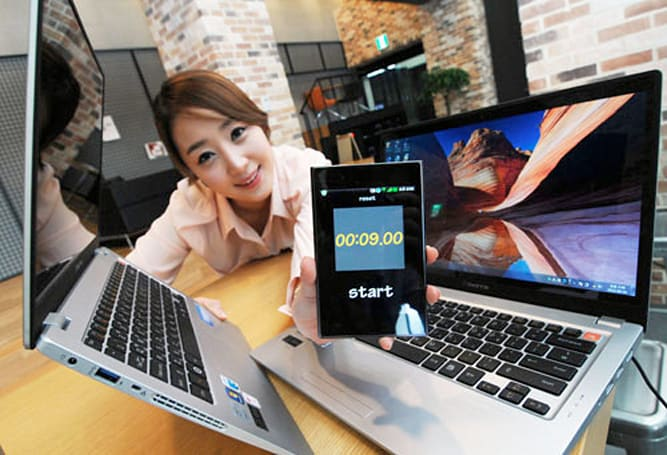 LG launches 13.3-inch X Note Z350 / 14-inch Z450 laptop with third-gen Intel Core power, WiDi and an SSD