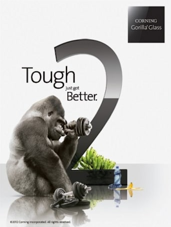 Corning to show off Gorilla Glass 2 at CES 2012