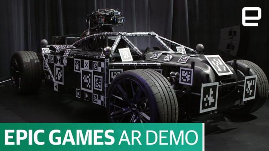 "Epic Games' ""Project Raven"" AR Demo 