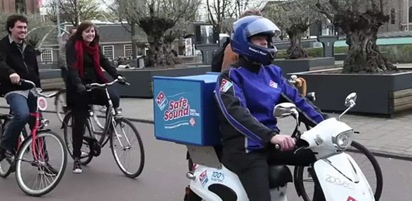 This talking Domino's Pizza scooter will make your day infinitely more awesome (video)