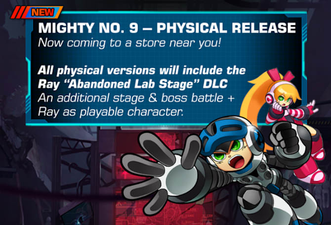 'Mighty No. 9' release blasted back to September