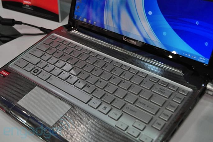 Toshiba redesigns Satellite ultrathin laptops, we go hands-on