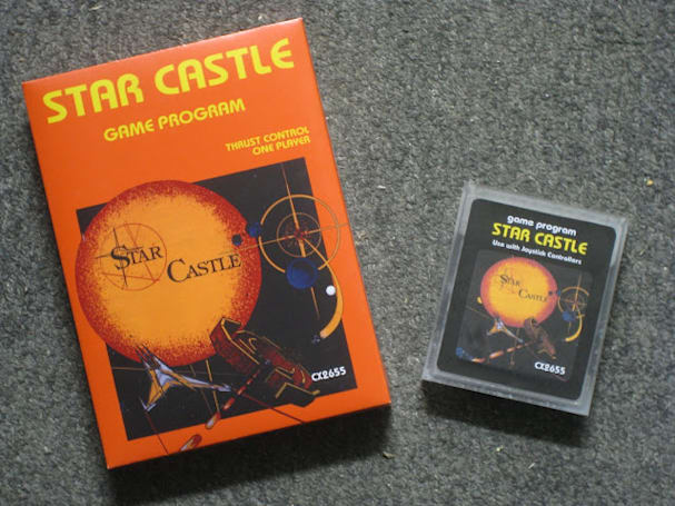 Star Castle finally finds a home on the Atari 2600, gets a redesigned cartridge