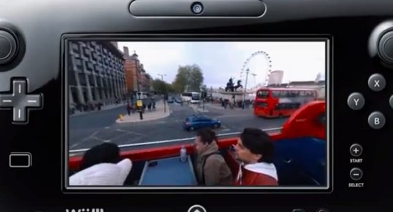 Wii U Panorama View app visible in spring