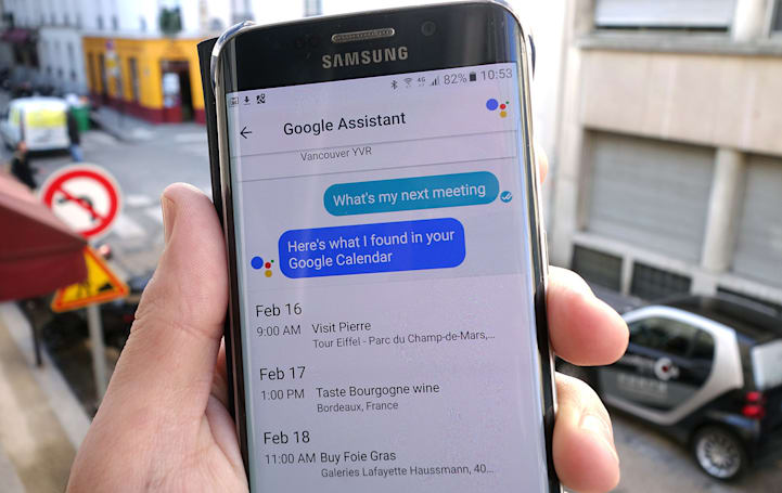 Google Assistant can share your personal info in Allo chats