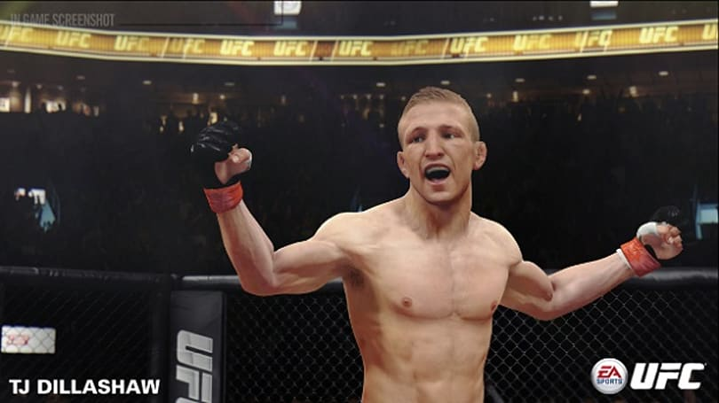 EA Sports UFC adds three fighters, finishes the fight
