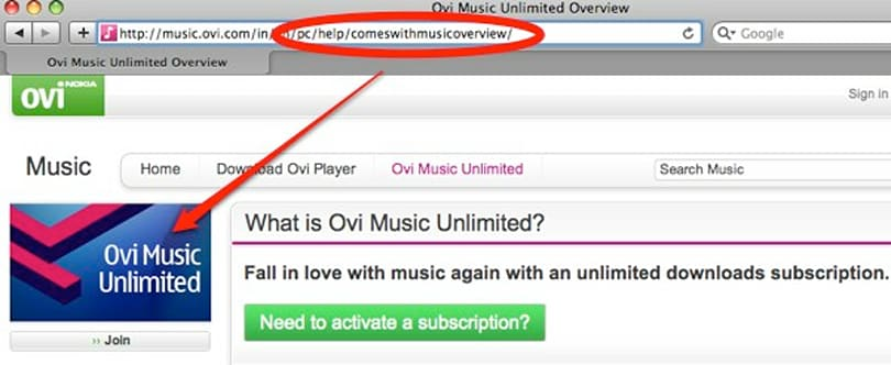 Ovi Music Unlimited replacing Nokia Comes with Music branding