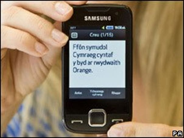 Welsh nab their first native-tongued phone and iPhone app in one month's time -- Cymru am byth!