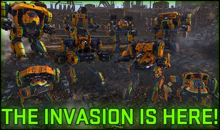 MechWarrior Online launches the Clan Invasion