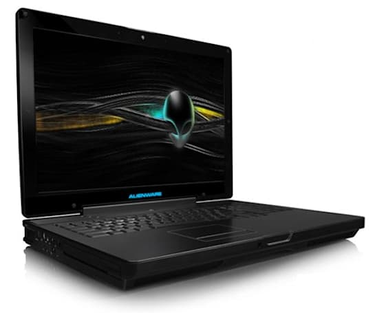 Alienware m17x laptop touching down nationwide