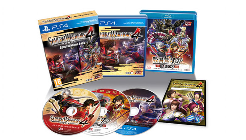 Samurai Warriors 4 tenth anniversary edition hits PS4 in October