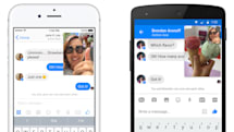 Facebook Messenger's 'Instant Video' looks awfully Snapchatty