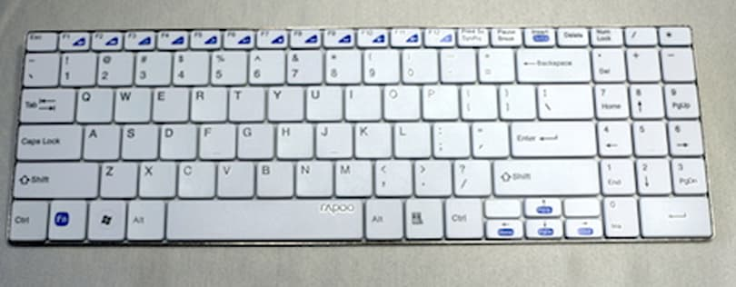 Rapoo E9070 Wireless Ultra-Slim Keyboard: Big keys, sleek design, amazing battery life