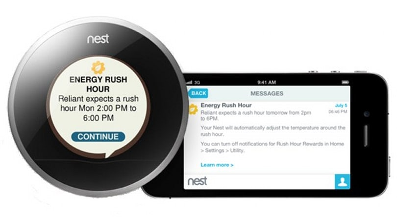 Nest Energy Services link home cooling to utilities' cloud data