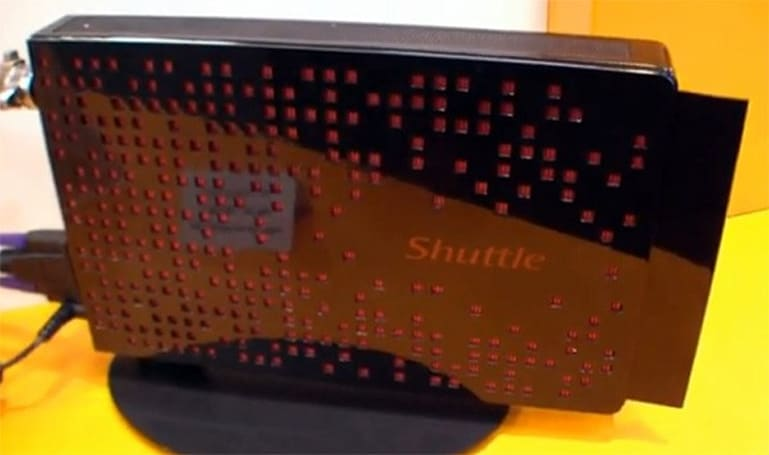 Shuttle's Ion 2-equipped XS35 shows off its slimline nettop credentials in hands-on video