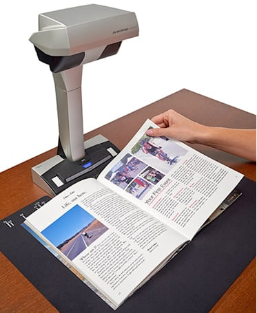 Fujitsu shows ScanSnap SV600 Contactless Scanner at Macworld 2014