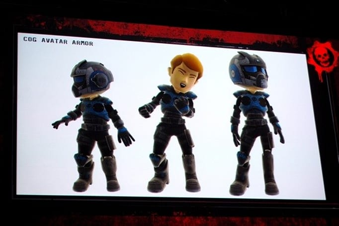 Gears of War COG and Locust Armor coming to Xbox Live Avatars