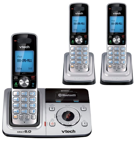 New VTech cordless can download cellphone address books over Bluetooth