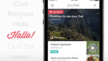 Pocket's read-it-later service adds international flavor with six new languages